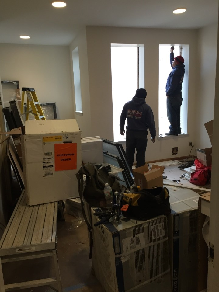 Jersey City NJ Apartment Remodel During 2