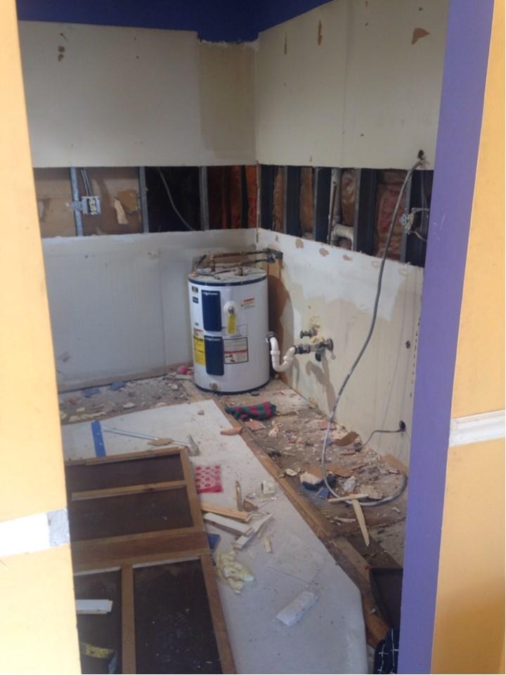 Jersey City NJ Historic Apartment Remodel During Renovation