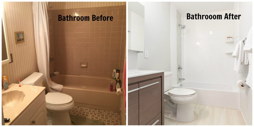 Jersey City NJ Historic Apartment Renovation Bathroom Before and After 2016