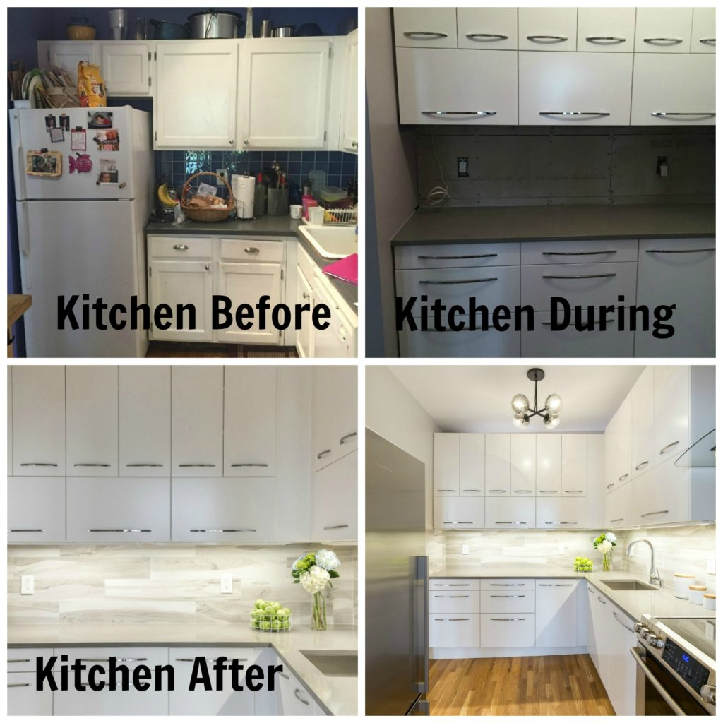 Jersey City NJ Historic Apartment Renovation Kitchen Before During After