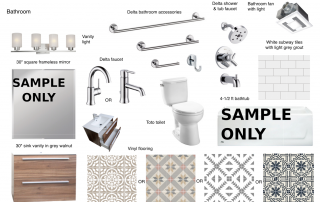 Bathroom Mood Board, A Chance for a Fresh Start
