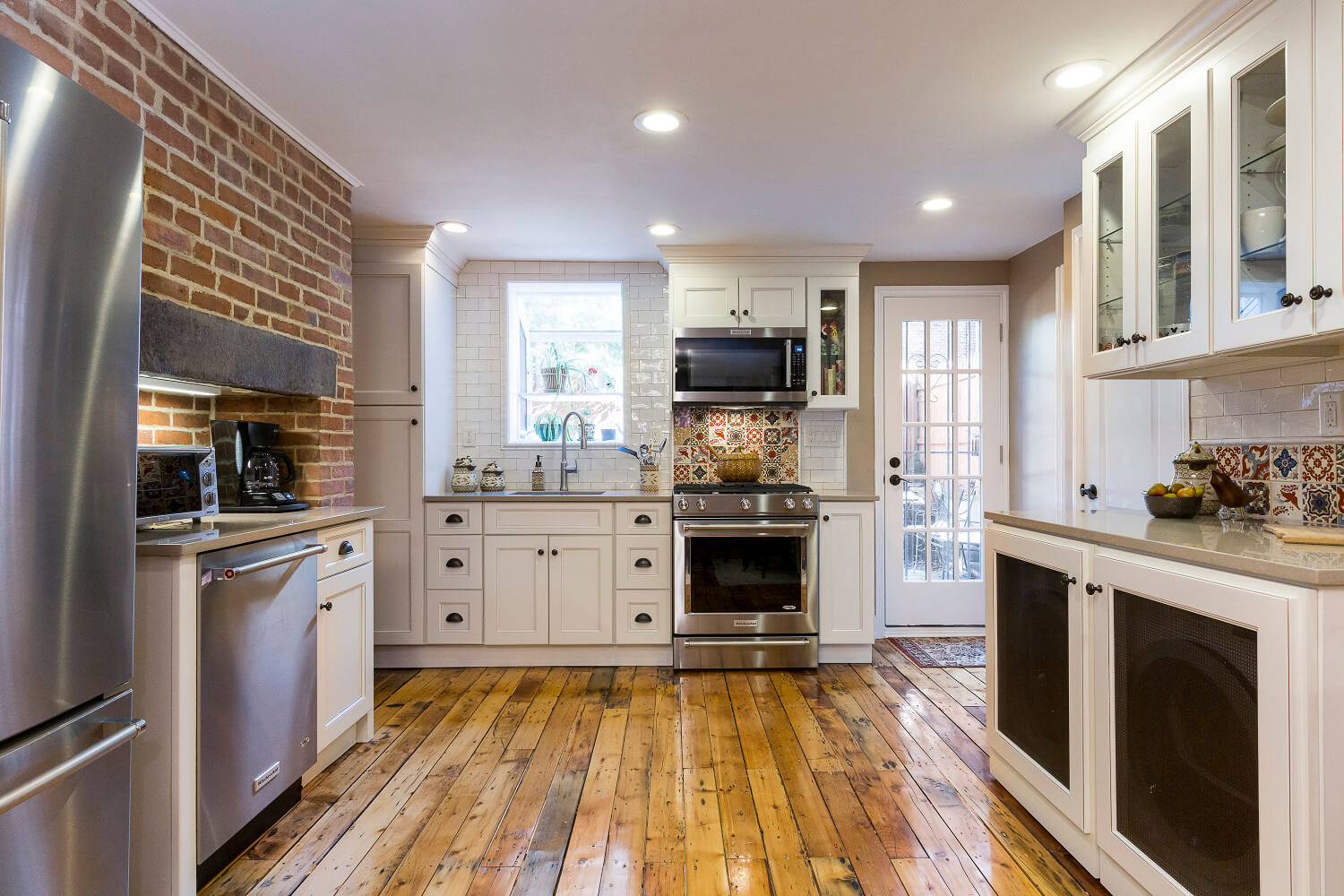 Historic kitchen remodel jersey city houseplay renovations for Remodeling old homes