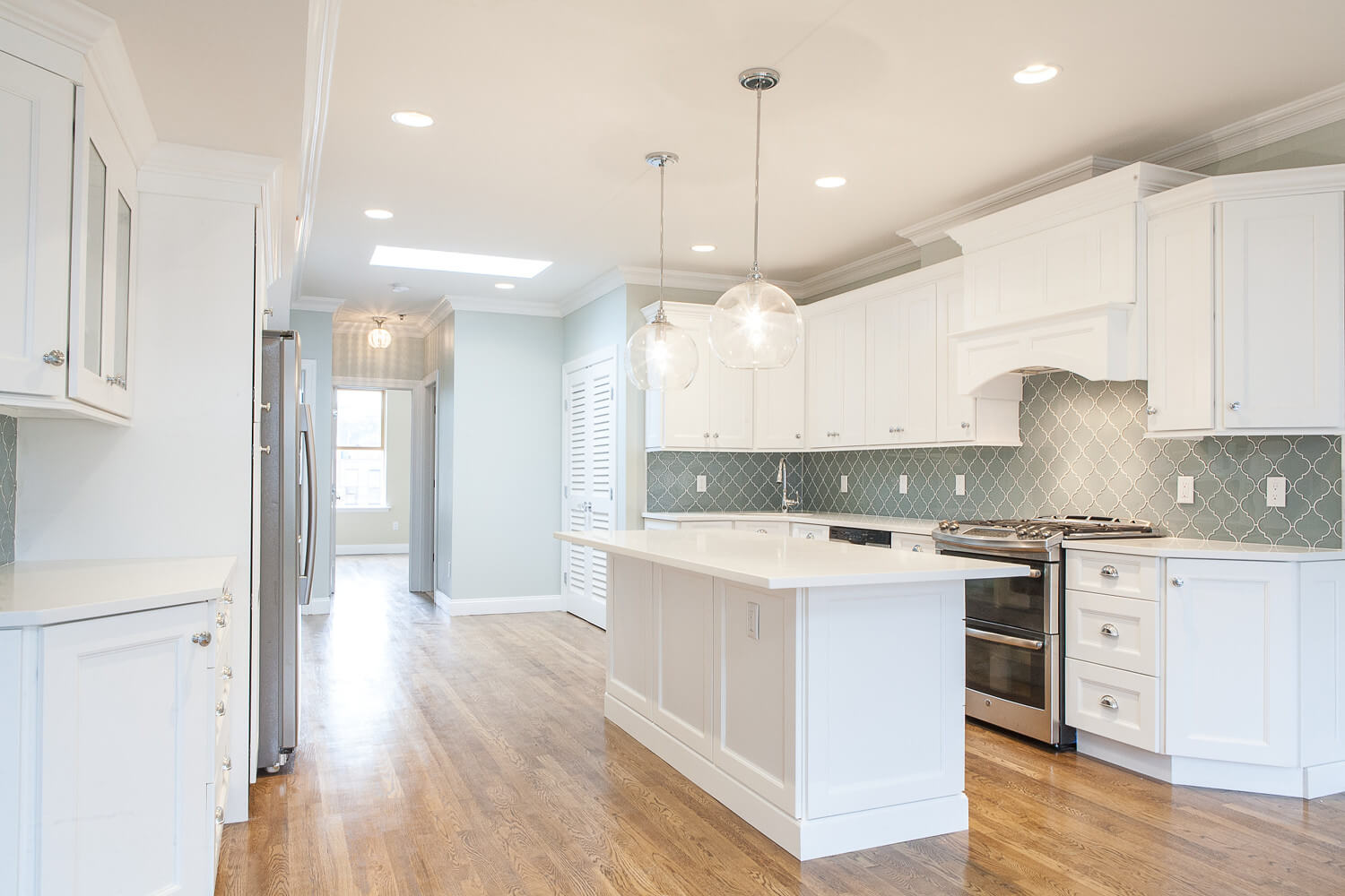 Image of completed Hoboken, NJ remodel
