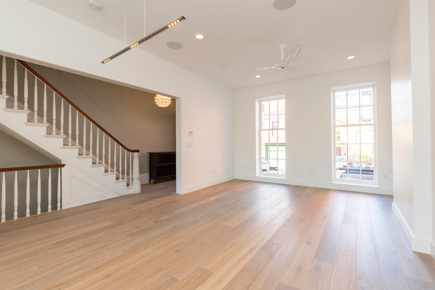 Image of completed Jersey City, NJ Brownstone remodel