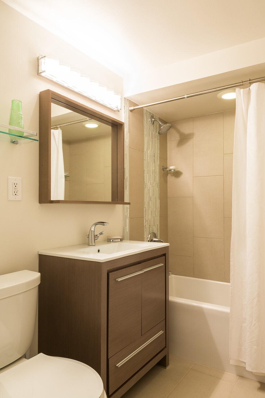 Image of completed North Bergen, NJ remodel