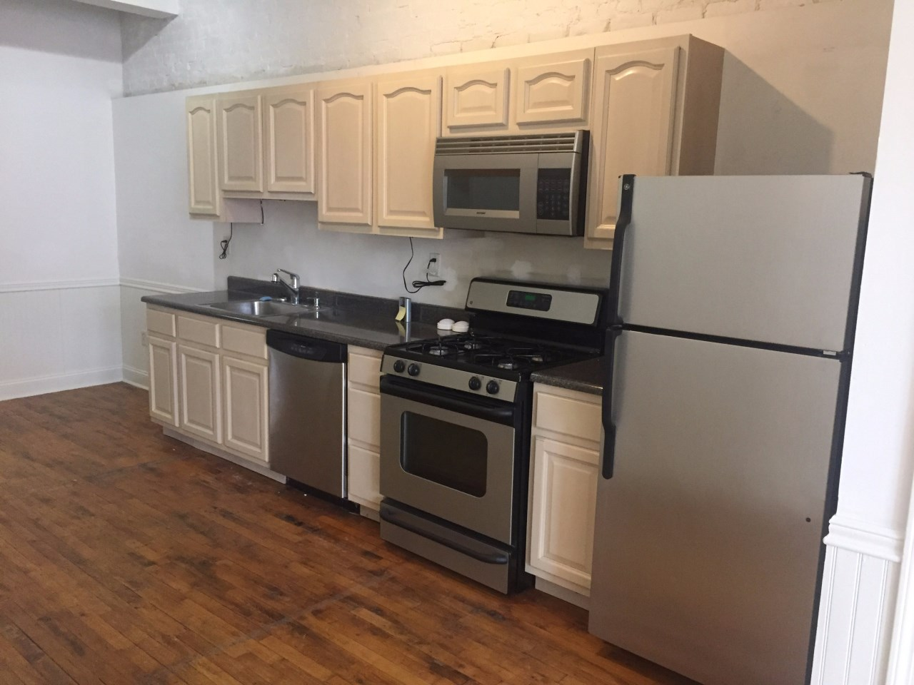 Apartment Remodel Downtown Jersey City Time for Transformation Kitchen Before 01
