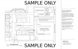 Remodeling Contractor Rockland County Drawings Sample Only