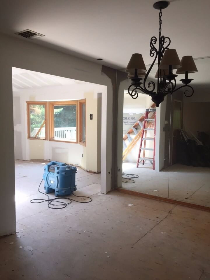New City Dining Room During Renovation