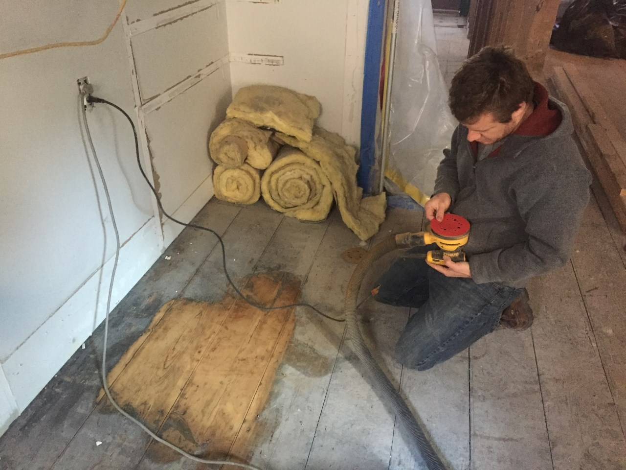 Historic District Brownstone Remodel Project In Process History Revitalized During Remodel 01