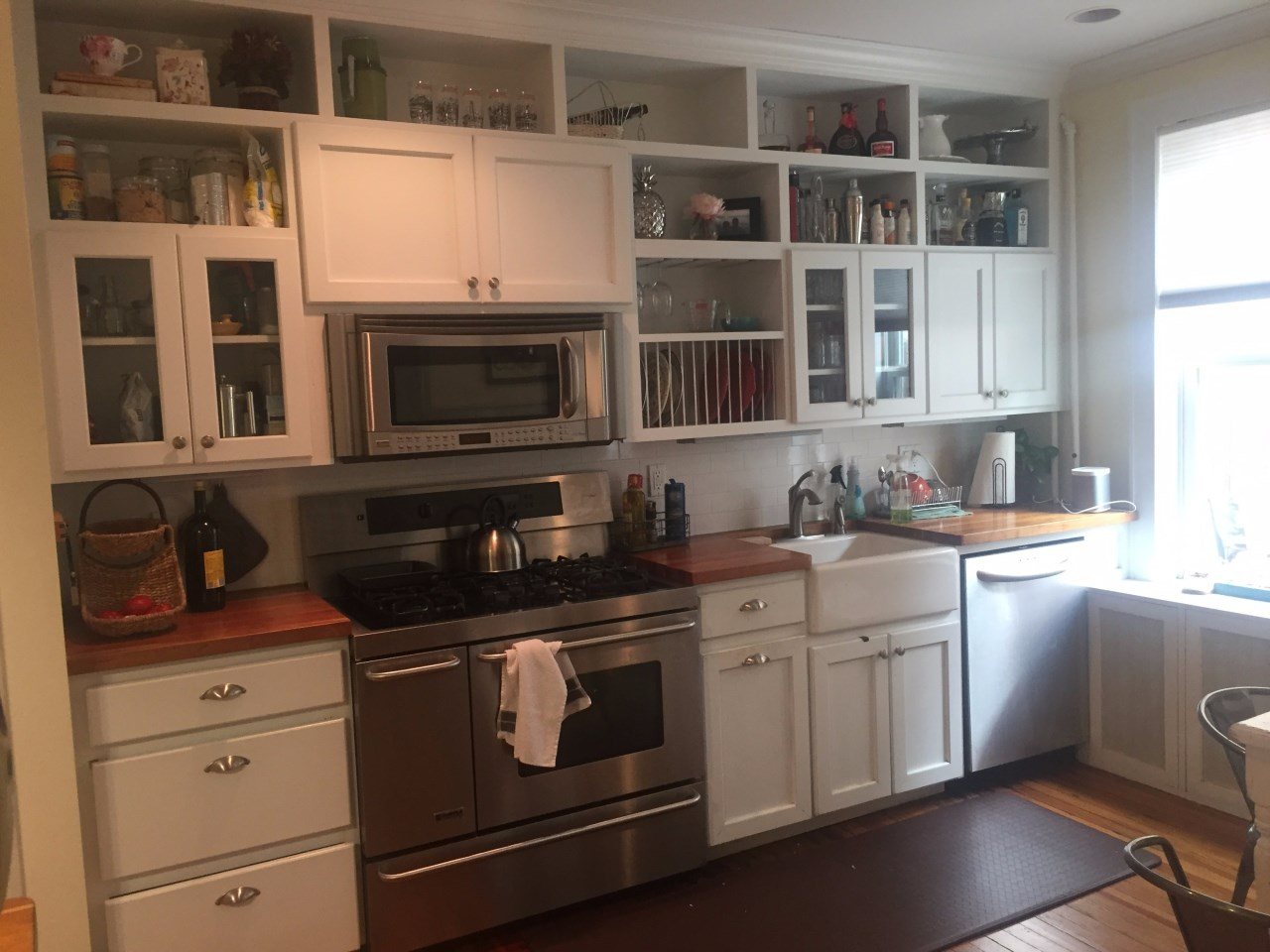 Historic District Brownstone Remodel Project In Process History Revitalized Kitchen Before 02
