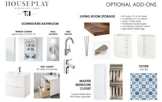 Piermont, NY bath/kitchen remodel mood board