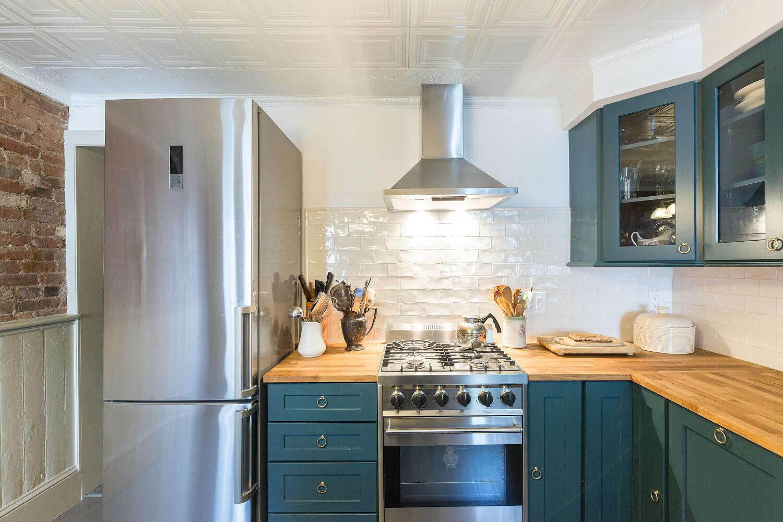 Jersey City Historic Brownstone Kitchen Remodel