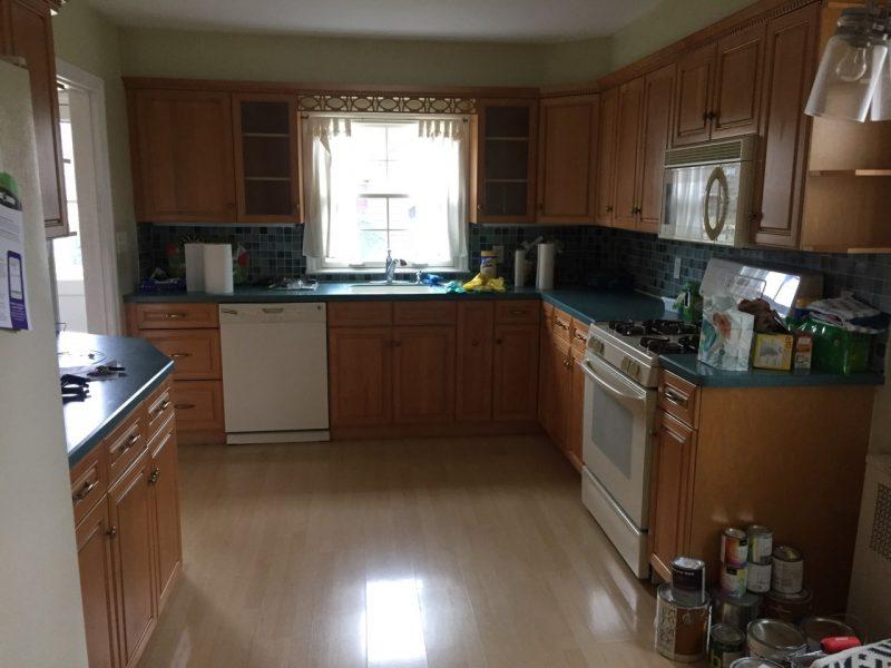 Ridgewood kitchen before remodel