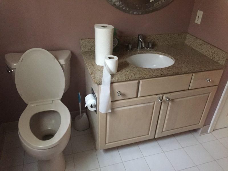 Ridgewood bathroom before remodel
